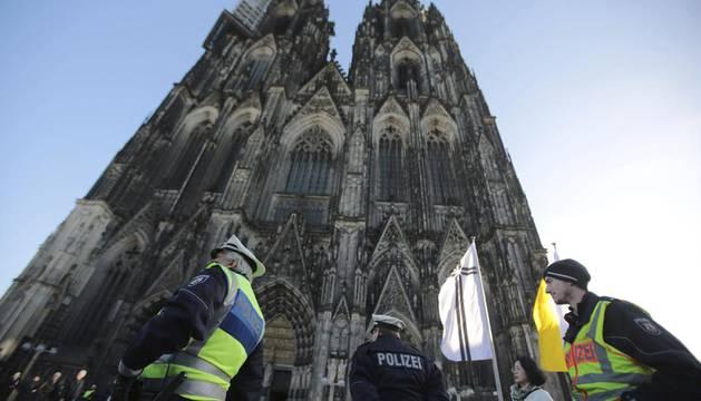 Destituido el jefe de Policía de Colonia tras las agresiones a mujeres