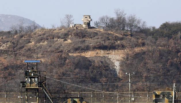 Seúl vuelve a emitir propaganda en la frontera con Corea del Norte