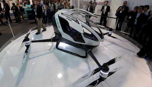 El dron tripulado, Ehang 184.
