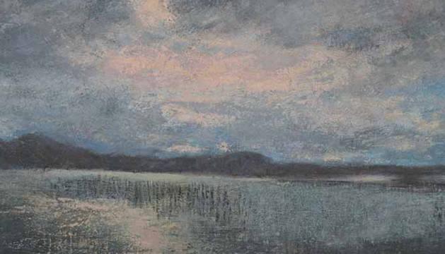 Exposición de pintura de la Asociación Alfredo Sada en Pamplona.