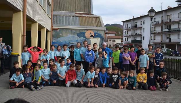 Bera celebró su 'IX Subida al Santa Bárbara' con 59 parejas inscritas