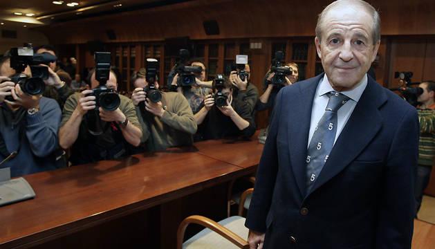 El periodista José María García, en una imagen de 2007.
