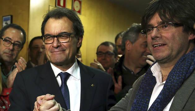 Mas se aparta y Puigdemont será el presidente de la Generalitat