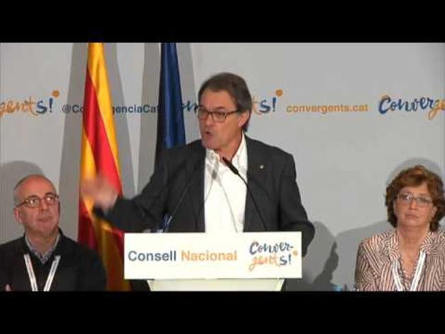 """Artur Mas reconoce que formaba más """"parte del problema que de la solución"""""""