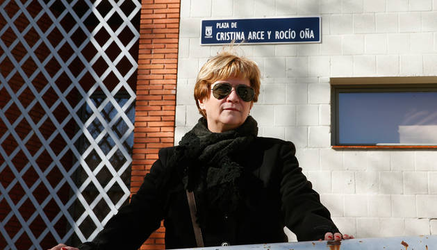 Isabel de la Fuente, madre de Cristina Arce, una de las víctimas del Madrid Arena.