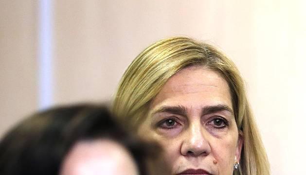 Comienza el juicio del caso Nóos con la infanta Cristina en el banquillo