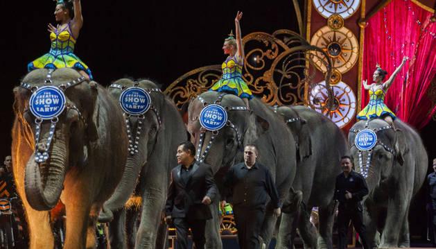 El circo Ringling Bros de EEUU dejará de usar elefantes