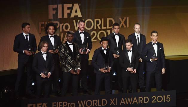 Once ideal de la FIFA.