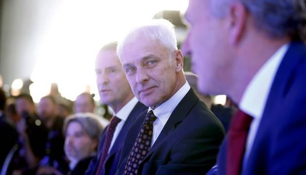 Matthias Müller, presidente del Grupo Volkswagen.
