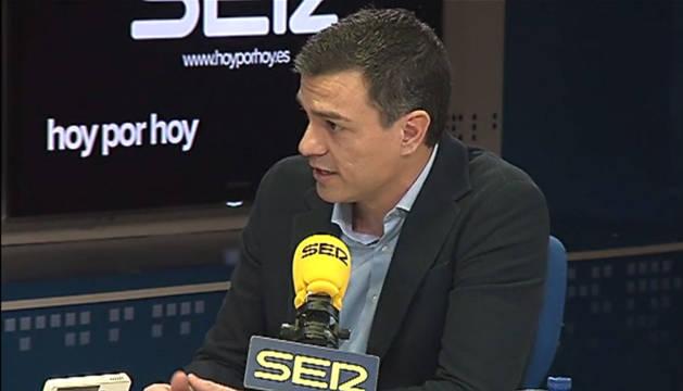 """Sánchez no renunciará a buscar una mayoría alternativa """"a izquierda y a derecha"""""""