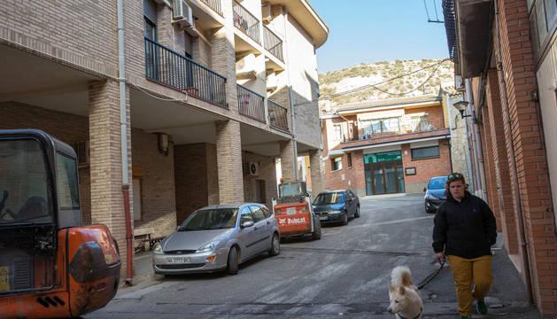 Imagen de la placeta de Ríos, una de las vías de Valtierra donde se realizarán obras de mejora.