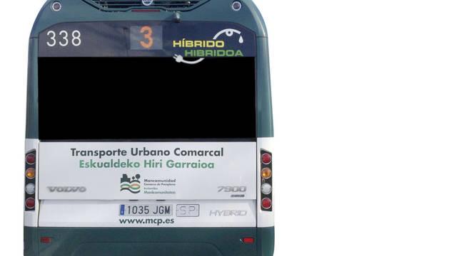 Los 2.020 litros al mes del autobús 338
