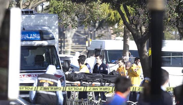 Un atentado en la zona turística de Estambul causa varios muertos.
