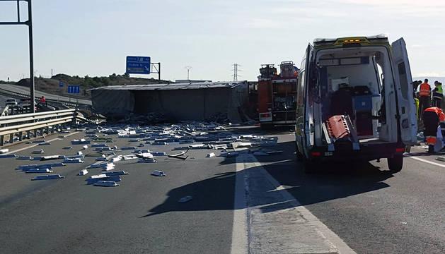 El accidente ha ocurrido frente a la Ciudad Agroalimentaria.