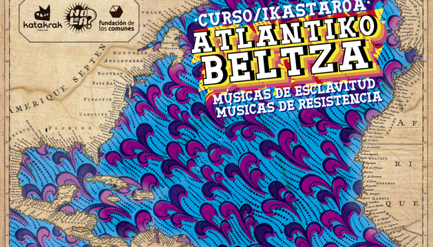 Cartel del ciclo 'Músicas de esclavitud, músicas de resistencia'.