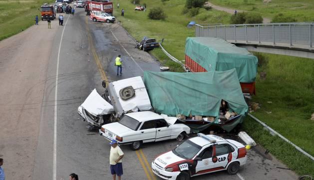 El accidente costó la muerte de un hombre de 63 años.