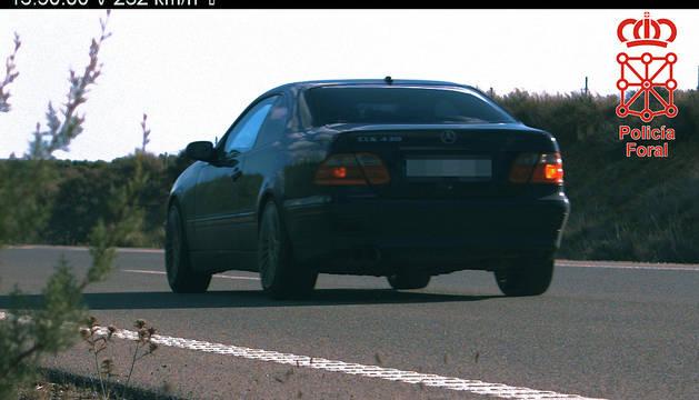 Imagen del vehículo cuyo conductor ha sido imputado.