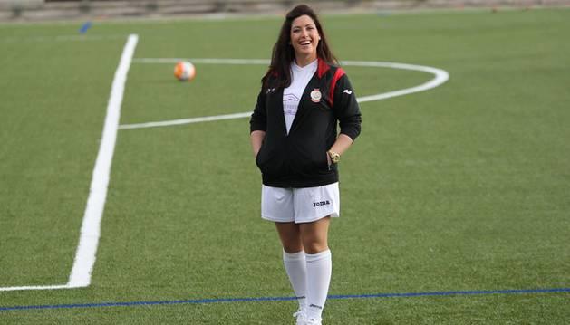 Isabel Rubal, fisioterapeuta y enfermera del Azkoyen.
