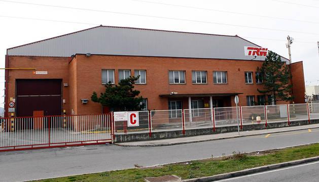 La planta de TRW en Pamplona.