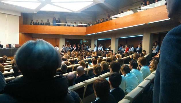 Los trabajadores de la Universidad de Navarra comienzan a movilizarse
