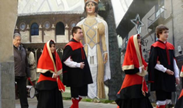 Fiestas de San Sebastián en Sangüesa