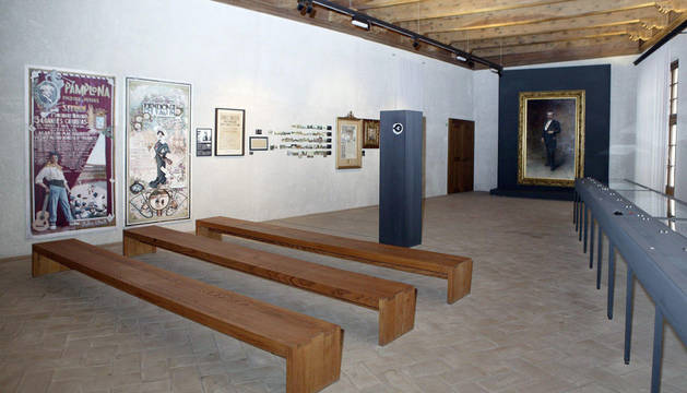 Sala Museo Pablo Sarasate.