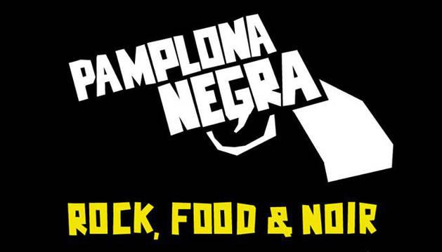 Cartel de la segunda edición de Pamplona Negra.