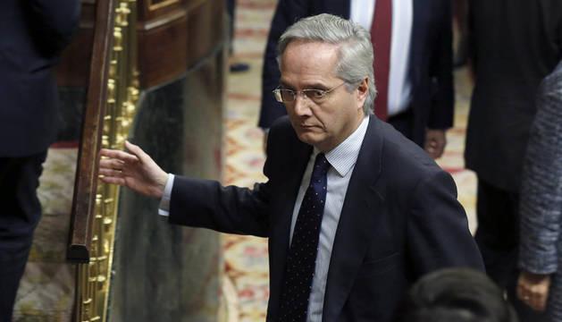 Pedro Gómez de la Serna, en el Congreso.