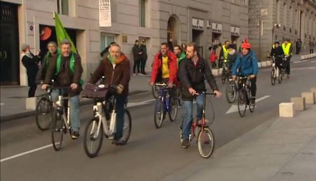 Las bicis y las rastas toman el Congreso