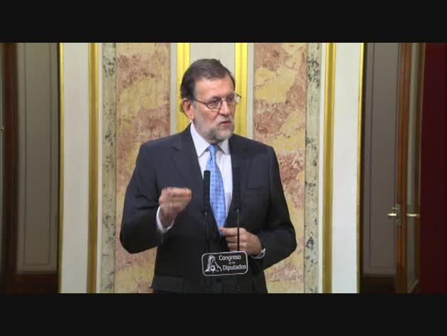 """Rajoy: """"Un gran acuerdo contaría con enorme apoyo"""""""