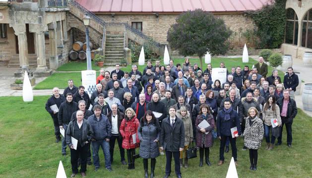 Asistentes al encuentro organizado por Gas Natural