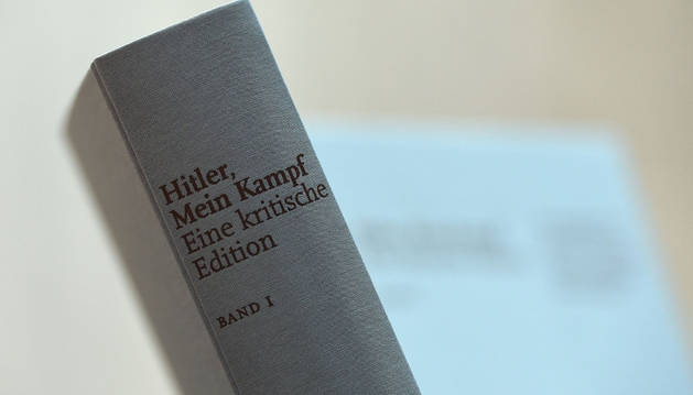 La edición crítica de 'Mein Kampf'.