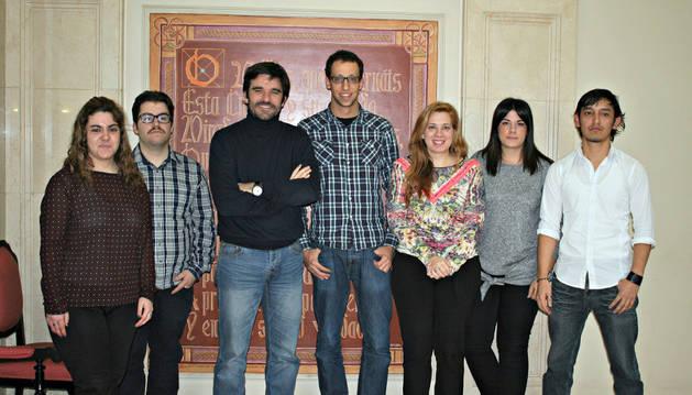 Beatriz Aréjula; Rubén Cacho; Eneko Larrarte; Castor Sola; Vanesa Poyo; Ainoa Sánchez; y José Julián Camacho.