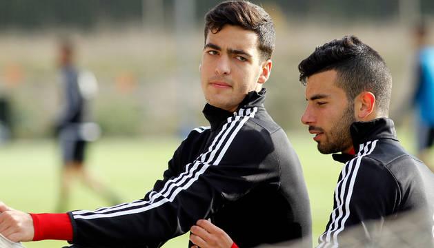 Mikel Merino y José García.