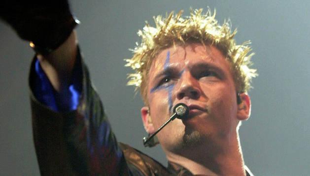 Nick Carter, cantante de los Backstreet Boys.