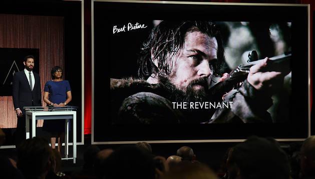 'El renacido' opta al premio a la Mejor Película.