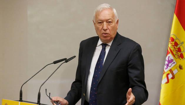 Margallo defiende en nombre del PP una reforma constitucional