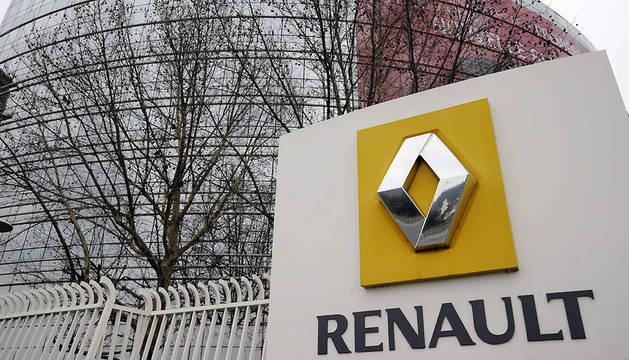 Exterior de la sede central de Renault en Boulogne-Billancourt (Francia).