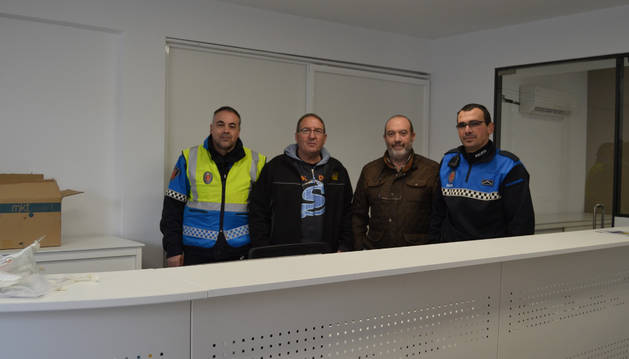 Eduardo Torres, José Benito López, Emilio Cigudosa y Nicolás Sesma.
