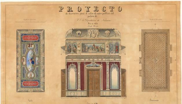 Nuevos fondos de cartografía histórica 'online' en el Archivo de Navarra