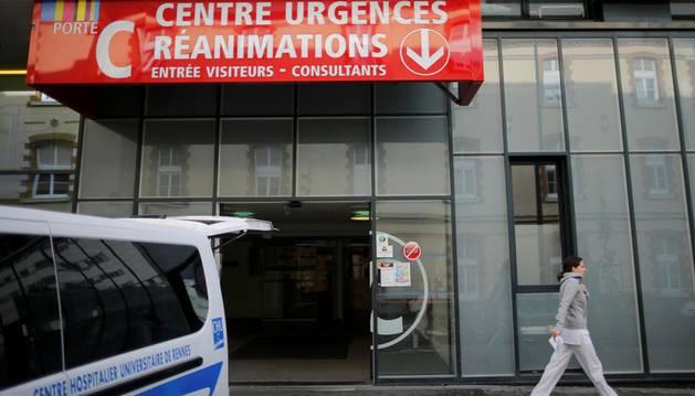 Una persona en muerte cerebral por el ensayo de un medicamento en Francia