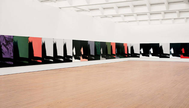 'Sombras' (Shadows), de Andy Warhol.