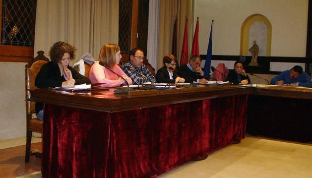 Imagen del pleno de Cintruénigo celebrado el miércoles