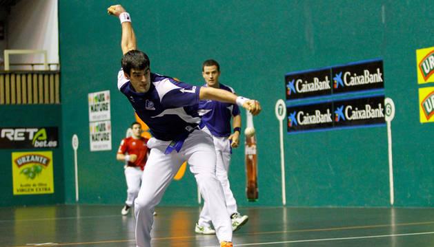 Ezkurdia y Barriola, en un partido anterior.