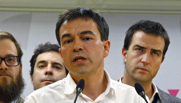 Andrés Herzog deja la dirección de UPyD, que ahora dirigirá una gestora