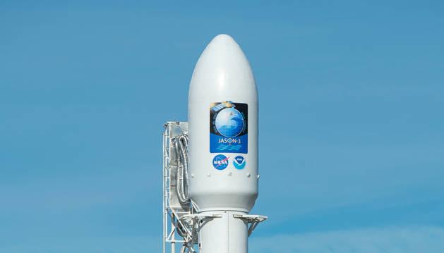 SpaceX lanza un satélite oceanográfico