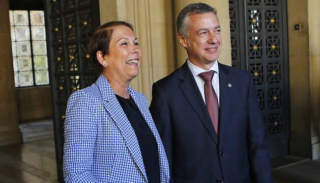 El Gobierno de Barkos intensifica la colaboración con Euskadi