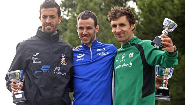 Nagore y Ollo, campeones navarros de cross corto en Tudela