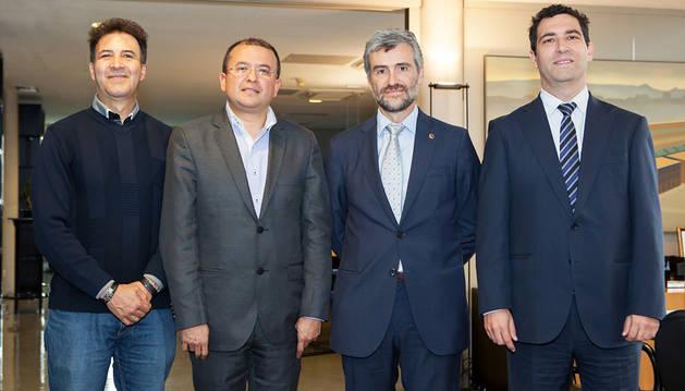 Convenio de colaboración de la UPNA y Santo Tomás de Colombia