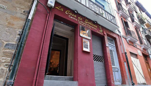 La casa de Sabicas, en Pamplona.